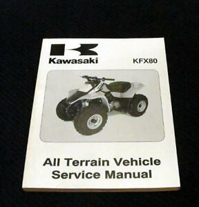 2002 kawasaki kfx80 atv all terrain vehicle vehicle service repair rh ebay com Clean Carburetor Kawasaki KFX 80 kawasaki kfx 80 service manual