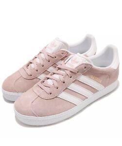 adidas gazelle gris con rosa