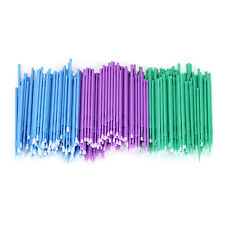 100 Pcs Dental Micro Brush Disposable Materials Tooth Applicators 15225mm