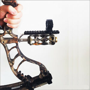 Compound-bow-Barrel-Mount-Holder-Laser-sight-Flashlight-Torch-Night-Hunter-Hold