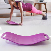 Fitness Simply Workout Board Sport Yoga Gym Board Trainer Turnboard Color Purple
