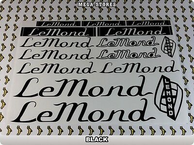 LEMOND Stickers Decals  Bicycles Bikes Cycles Frames Fork Mountain MTB BMX 55P