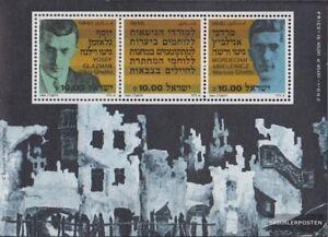 Israel-Block24-kompl-Ausg-gestempelt-1983-Widerstand-gegen-Holocaust