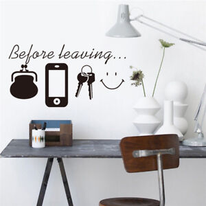 New-Removable-Before-Leaving-Letter-Wall-Stickers-Vinyl-Decals-Mural-Home-Decor