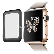 Black Full border Edge Tempered Glass Screen Protector for Apple Watch 42mm