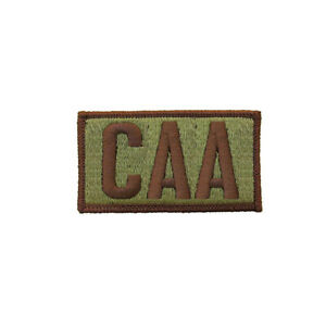 Details about US Air Force CAA OCP Brassard Patch w Spice Brown Border and Hook (ea)