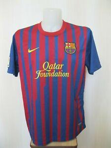 FC-Barcelona-2011-2012-home-XL-Nike-shirt-jersey-maillot-soccer-Barca-football