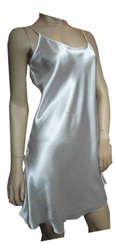 Nachthemd Nighty Baby Doll Nachtwäsche Neglige Amore Satin weiß Top-Qualität