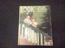 1946 DECEMBER 24 LOOK MAGAZINE - GREAT PHOTOS & ADS - ST 2049
