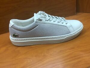 Lacoste-Men-039-s-Sneakers-L-12-12-LighterW418-Off-White-Grey