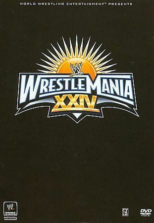 WWE - Wrestlemania XXIV DVD, 2008, 3-Disc Set  - $12.00