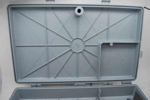 "17/""x10/""x3/"" Outdoor Cabletek Enclosure Plastic Grey Case Utility Cable Box 48MDE"