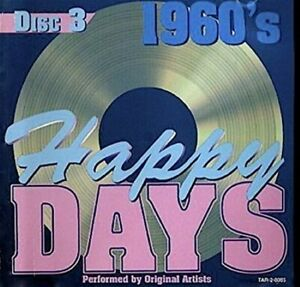 1960's Happy Days (Disc 3) - Music CD -  -  1997-12-03 - Madacy Entertainment Gr