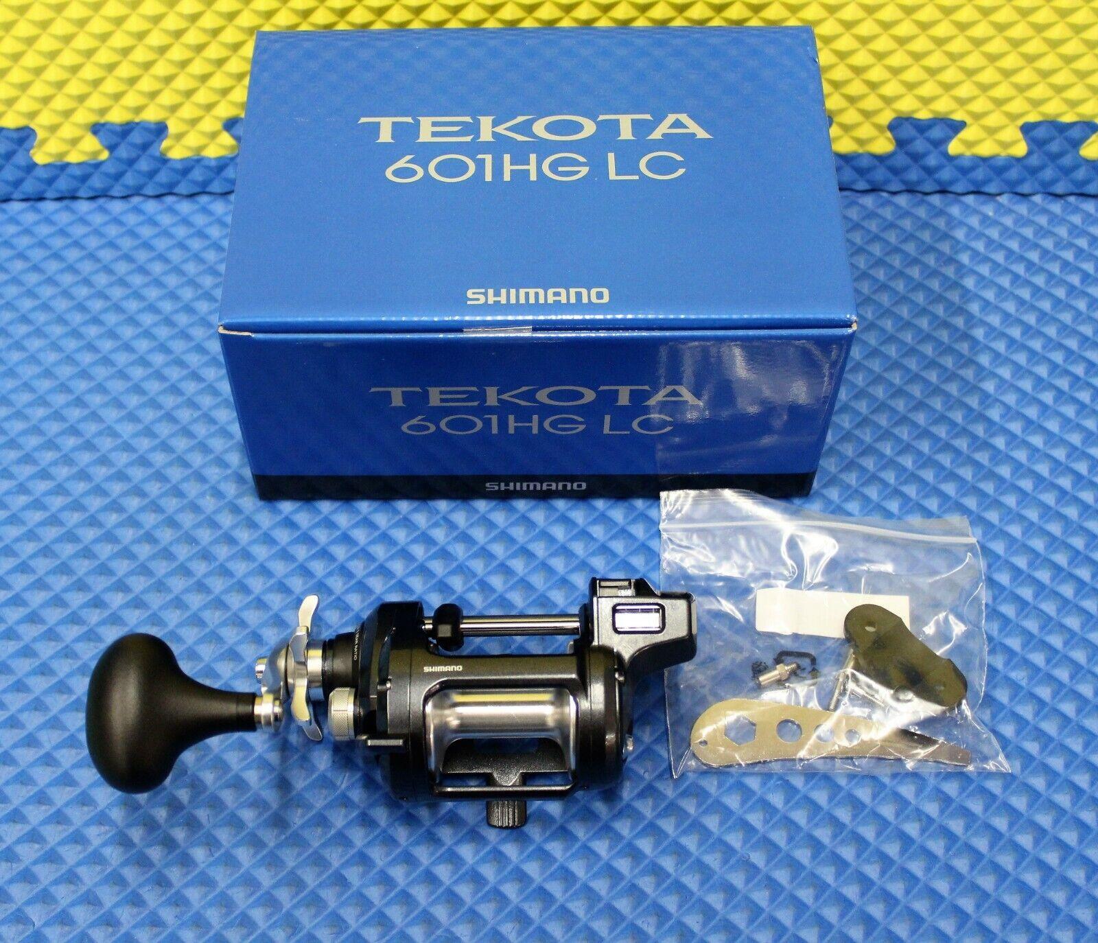 Shimano Tekota Left  Handed Linecounter Trolling Reel NEW FOR 2019  TEK601HGLCA  supply quality product