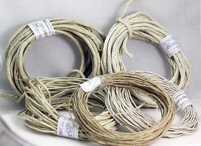 Pure Natural  Hemp Cord- HEMP TWINE   0.5MM -1MM- 2MM-3MM -4MM    Crafts-