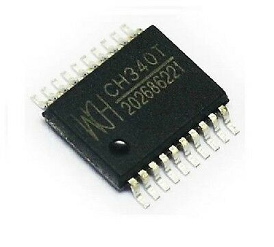 CH340T WCH SSOP-20 USB Interface Chip NEW  IC