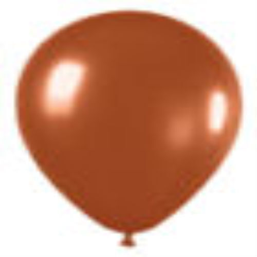 12 CRYSTAL BROWN LATEX BALLOONS HELIUM GRADE 11
