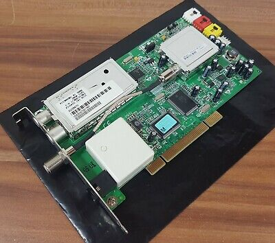 Tv Tuner Card Dvb-s Dvb-t Pci Medion 7134 Ctx925_v.1 20026970 + Modem Top!-