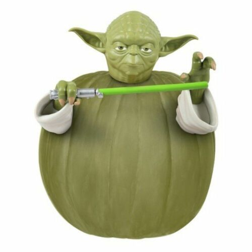 Disney Star Wars Yoda Pumkin Push In Kürbis Dekorations Kit Kinder ab 5 Jahre