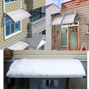 240cm Marquis Auvent Porte Fenêtre Toile De Store Banne Protection