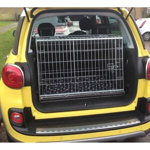 Image Is Loading Pet World Fiat 500l Sloping Car Dog Cage