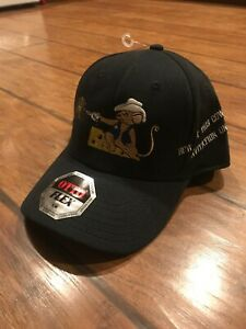 5d8599600fa32 Red Dirt Hat Co. Ranch Texas Heather Black White Snapback Cap Mouse ...