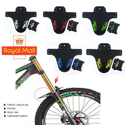MTB Bike Bicycle Mud Guards Tire Tyre Mudguard w//Cable Ties For Bike Fenders