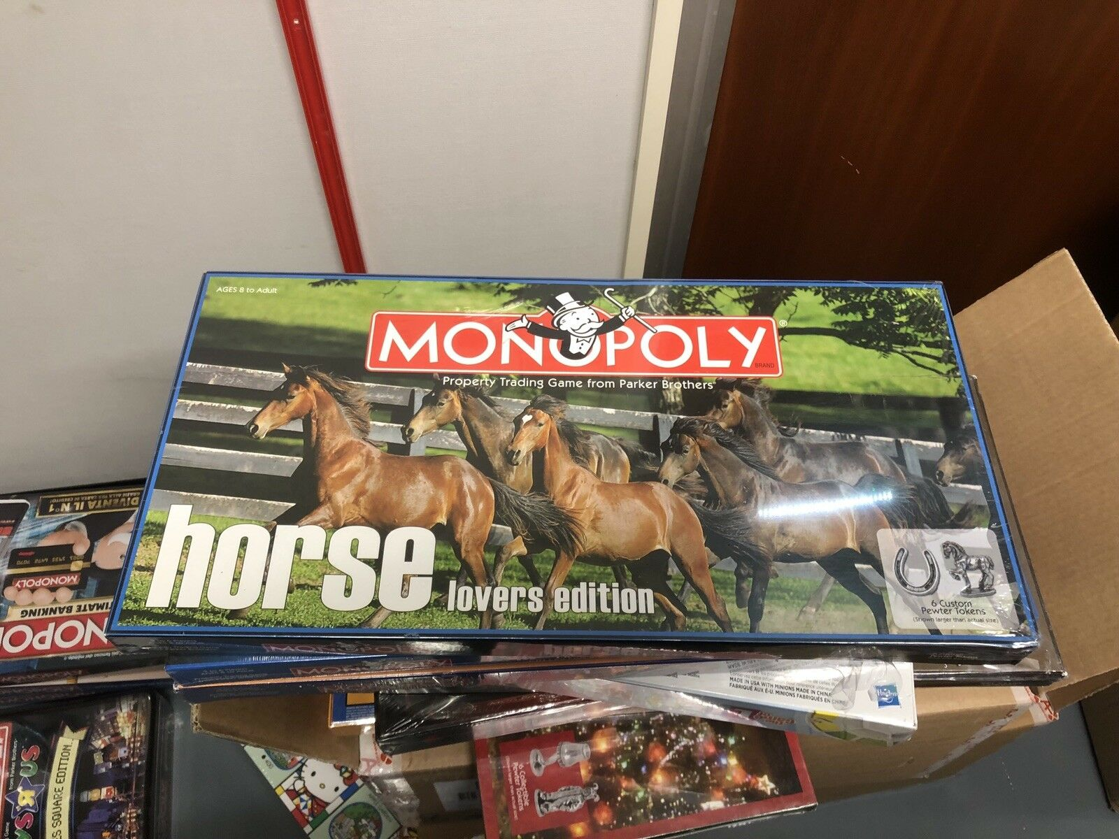 Monopoly Horse Lovers USA Edition Brand New Sealed ( But Has Seal Split )
