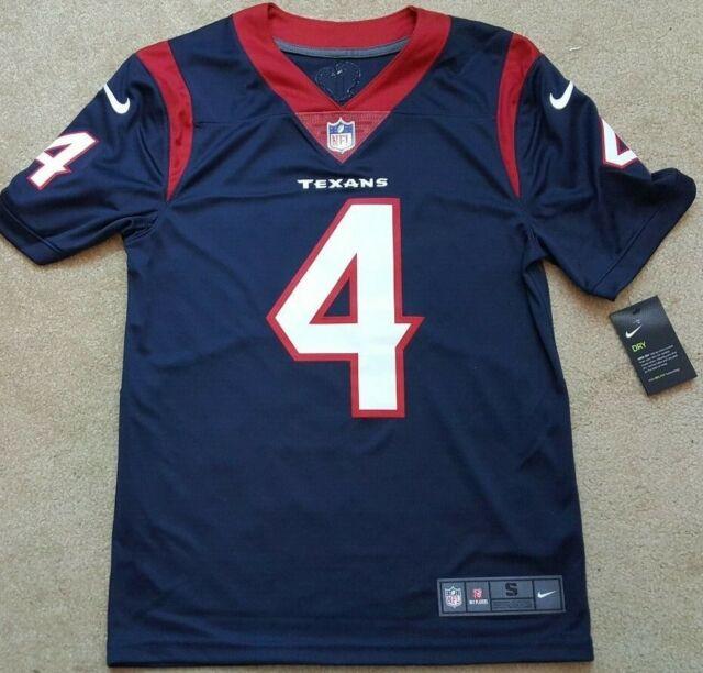 I NFL Football DeShaun Watson #4 Houston Texans 3xl Nike on Field Jersey