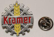 KRAMER Logo Landwirtschaft Traktor Schlepper l Anstecker l Abzeichen l Pin 267