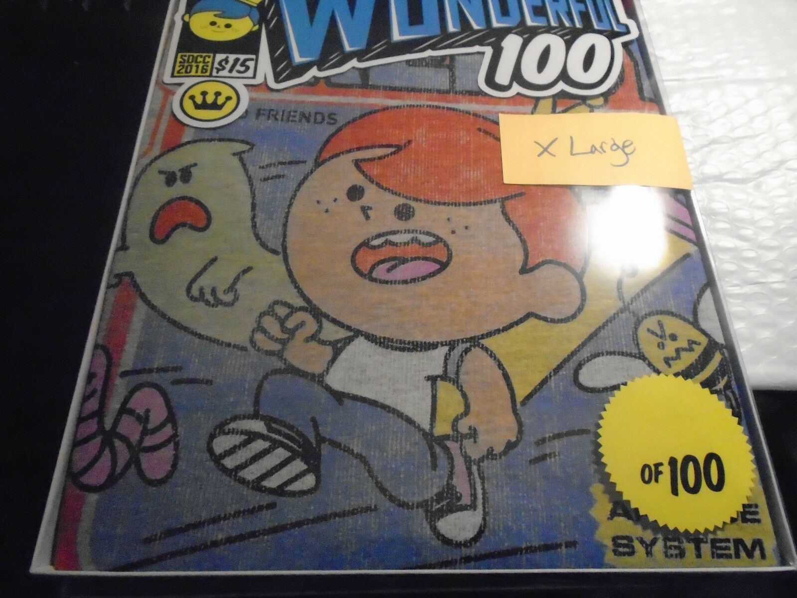 SDCC 2016 EXCLUSIVE Funko FROTdy Arcade Tee Wonderful 100 Limited to 100 XLarge