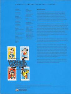 1639-47c-Forever-Wonder-Woman-4-Stamps-5149-5152-Souvenir-Page