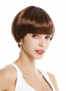 Wig Women S Wig Short Page Bob Fringe Ombre Red Brown Braun Blonde