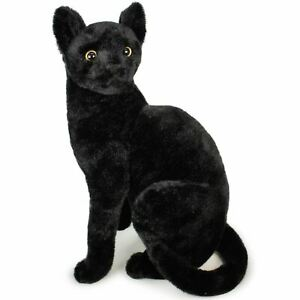 Boone the Black Cat   14 Inch Stuffed Animal Plush   by Tiger Tale Toys