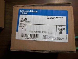Crouse Hinds Are13 30 Deg Receptacle Back Box Aluminum 1