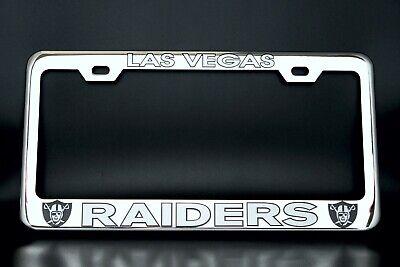 D0zopazkw License Plate Car Frame Collage License Plate Frame Aluminum Las Vegas Raiders