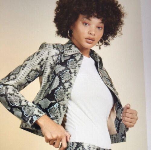 miaou lex snakeskin jacket