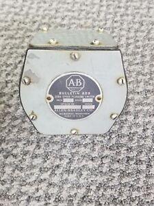 Details about ALLEN BRADLEY 808C SERIES C ZERO SPEED PLUGGING SWITCH