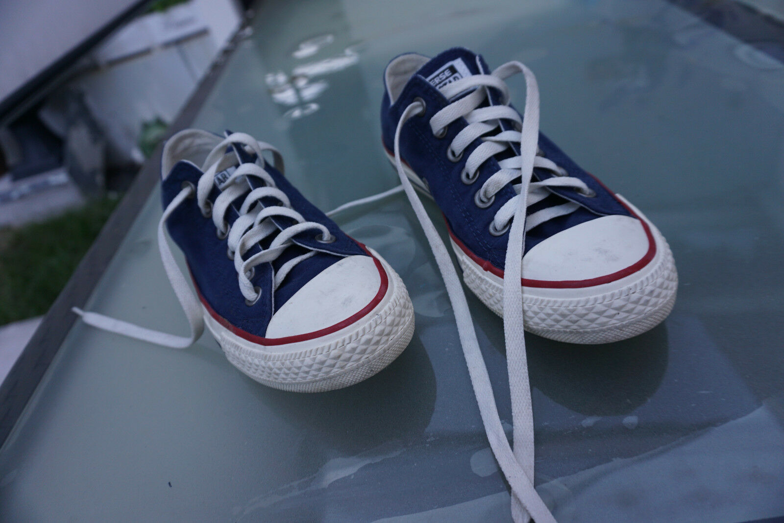 TRENDY All Fille Star Converse Femmes Chaussures Fille All Baskets Chuck Taille 37 Bleu Blanc Top c92502