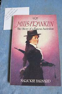 Miles-Franklin-The-Story-Of-A-Famous-Australian-Marjorie-Barnard-OzSellerFast