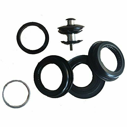 Gas Motorized Bicycle DONSP1986 Black Tripe Tree Suspension Fork and Headset
