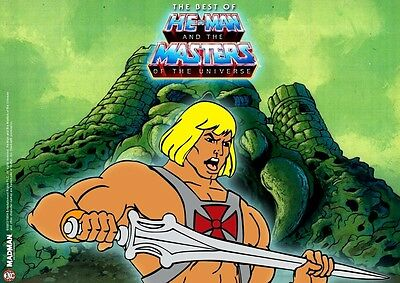 POSTER HE MAN AND THE MASTERS OF THE UNIVERSE GRANDE 14