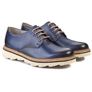 Clarks-Mens-Frelan-Walk-Burnished-blue-leather-Light-UK-6-5-7-8-8-5-G