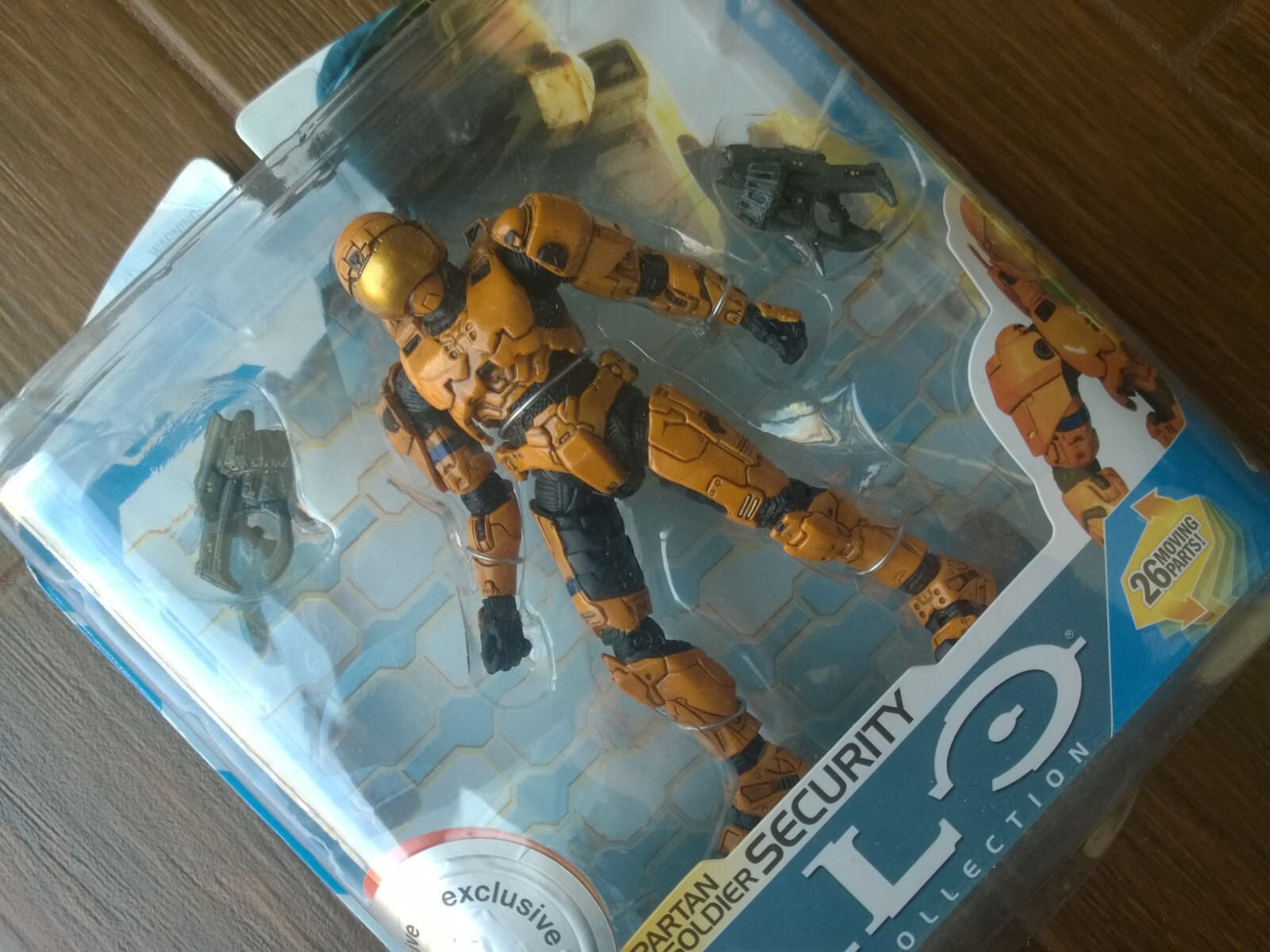 Toys R Us exclusive Halo 3 Series 7  arancia Security  Action Figure Xbox 360 NEW