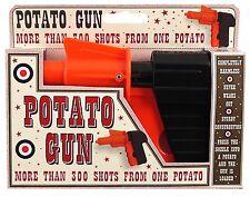 Clásico estilo vintage y retro Plástico Spud Pistola-Estilo occidental potato Gun