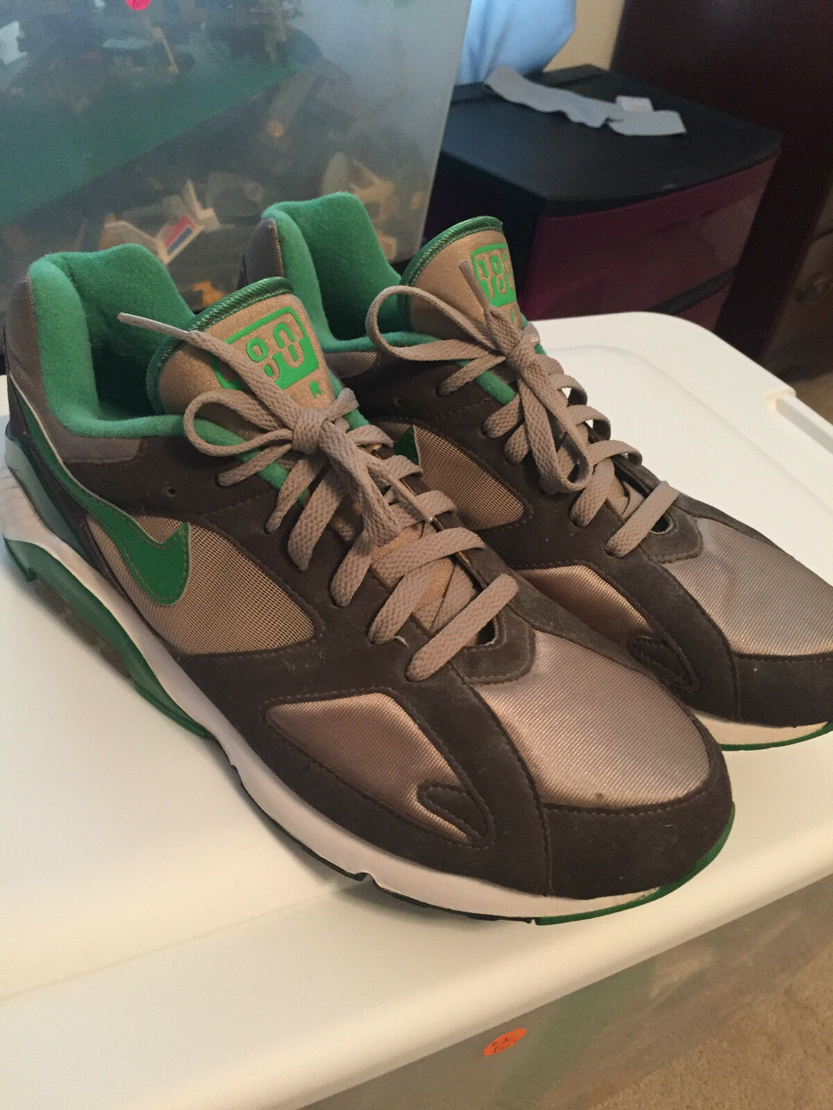 UNRELEASED NIKE AIR 180 MENS SIZE 11 SHOES OREGON COLORS PROMO The latest discount shoes for men and women