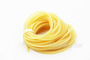 10-M-Amber-Rubber-Latex-Tube-Bungee-Outdoor-Hunting-Replacement-2040