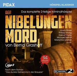 Der-Nibelungen-Mord-Kriminal-Hoerspiel-Pidax-Klassiker-mp3-CD-NEU-OVP