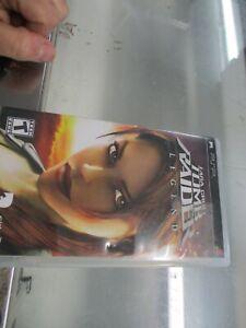 Lara Croft Tomb Raider Legend Psp Complete 5027669328585 Ebay