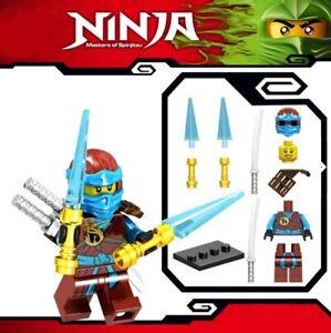 Ninjago-Nya-ZX-Schwert-Master-of-Spinjitzu-Custom-Lego-Mini-Figur-Lloyd-Ninja